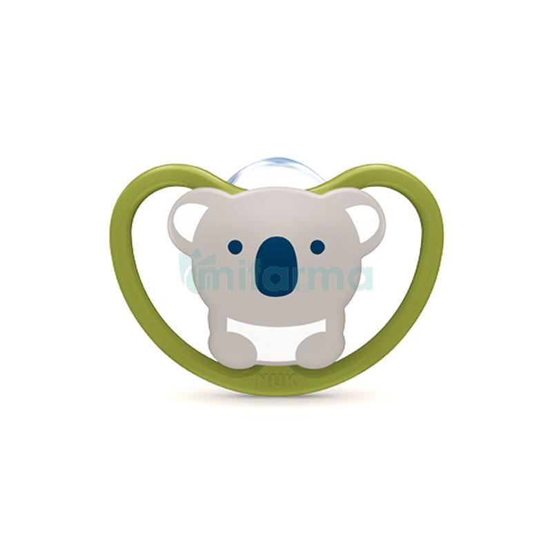6+ meses oso//gris BPA-libre Magic Cup Trinklernbecher Space Schnuller /& Schnullerkette 3 unidades Nuk Magic Cup /& Set