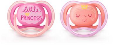 Chupete es es 2 pieza Ultra soft pacifier, Ortod/óntico, Rosa, 6 mes s Philips AVENT SCF223//22 18 mes
