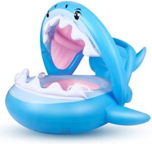 Flotador para Bebé Piscina Tiburón Tabla Hinchable