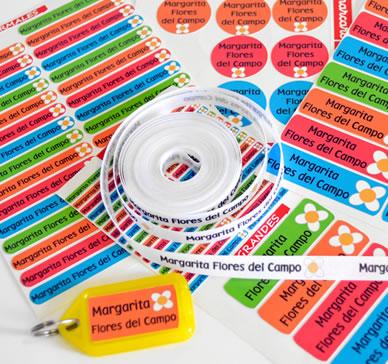 Comprar Etiquetas Para Marcar Ropa Y Utiles Escolares 2021